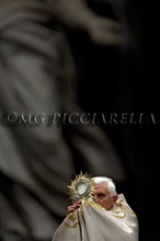 19-06-2009 Pope Benedict XVI leads the Vespers mass