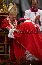 29-06-2009 Pope Benedict XVI presides at the Mass for the Solemnity of Saints Peter and Paul