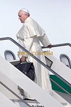 05-07-2015 Pope Francis leaves for Ecuador, Bolivia and Paraguay