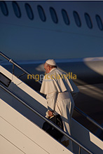 25-11-2015 Pope Francis leaves for Kenya, Uganda and the Central African Republic