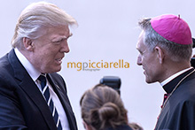 24-05-2017 Pope Francis meets US President Donald Trump