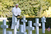 02-11-2017 Pope Francis celebrates All Souls Mass at American Cemetery