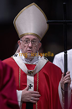 03-11-2017 Pope Francis celebrates memorial Mass for cardinals & bishops who died this year