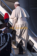 15-01-2018 Pope Francis leaves for Chile and Perù