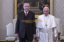 05-02-2018 Pope Francis meets President of Turkey Recep Tayyip Erdogan