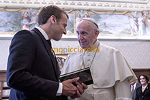 26-06-2018 Pope Francis meets French President Emmanuel Macron
