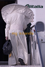 25-08-2018 Pope Francis leaves for Ireland