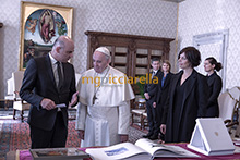 12-11-2018 Pope Francis meets Swiss Federal President Alain Berset