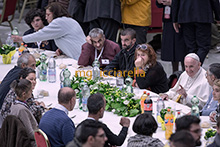 18-11-2018 Pope Francis lunch with the poor