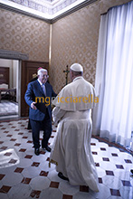 03-12-2018 Pope Francis meets President of the State of Palestine Mahmoud Abbas